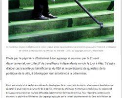 La Marseillaise - 06-01-2017 - La Pépinière et le CD30 au soutien des indépendants